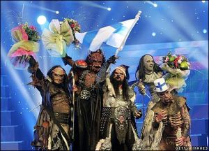 2006 Eurovision Song Contest winners. Real class act.