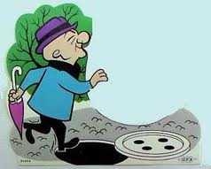 Image result for mr magoo falls over