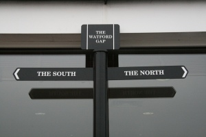 'Mind the gap, lass'