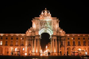Even the Portuguese have a Triumphal Arch (what for, exactly?)