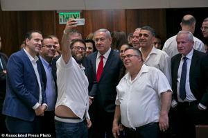 Benjamin Netanyahu, David Bitan, Oren Hazan