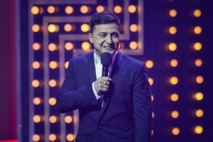 Volodymyr Zelensky candidate for the post of President of